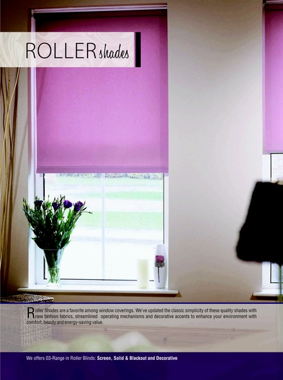 Roller Shades for Windows