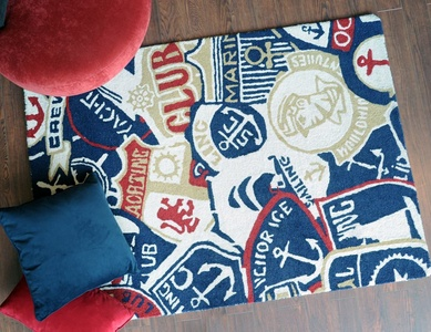 Sailor Rugs for Children's Rooms