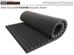 MMT Acoustix® Pyramid Acoustic Panels Charcoal