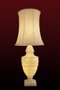 Greek Panel Table Lamp