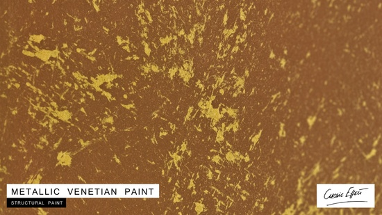 venetian paint metallic effect