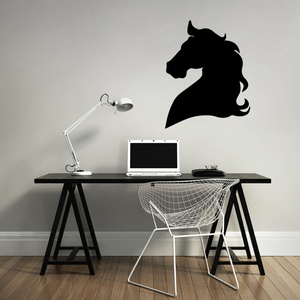 Horse Head Wall Decal ( KC291 )