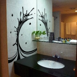 Water Splash Wall Decal ( KC113 )