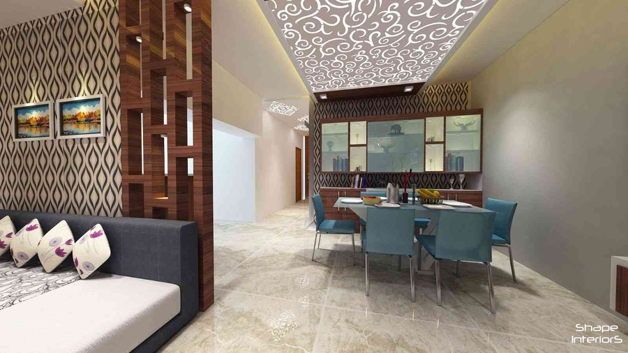 3bhk flat mangalam by shape interiors interior designer - Home interior design images india ...