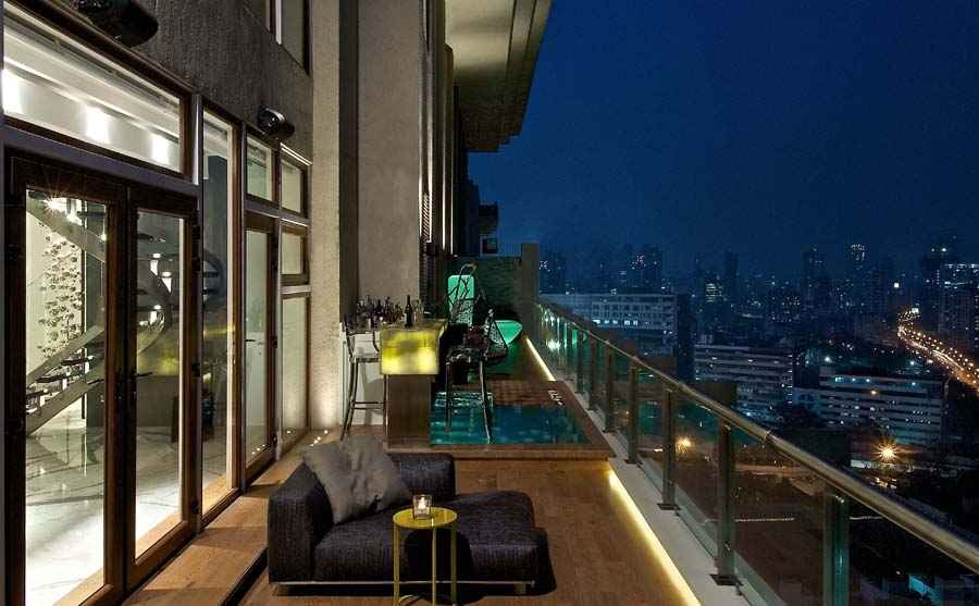Balcony Bar Design