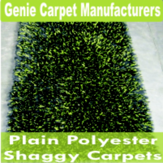 Plain Polyester Shaggy Carpets