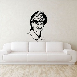 Lady Diana Wall Decal ( KC215 )