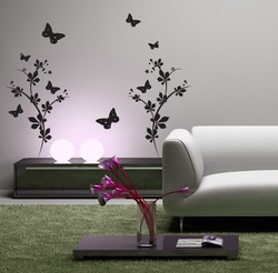 Fluttering Butterflies Wall Decal ( KC167 )