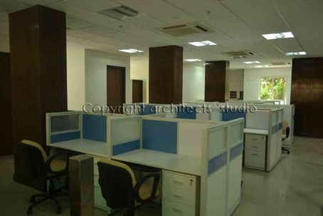 Workstations at Office complex