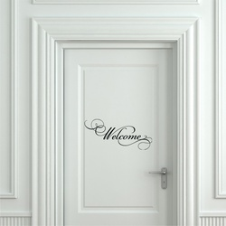 Welcome Wall Decal ( KC273 )