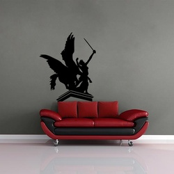 Warrior Princess Wall Decal ( KC221 )