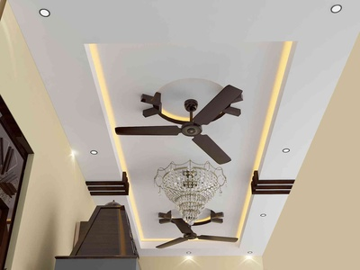 false ceiling living area