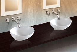Sestones Elio Ceramic Bowl-shaped Wash Basins