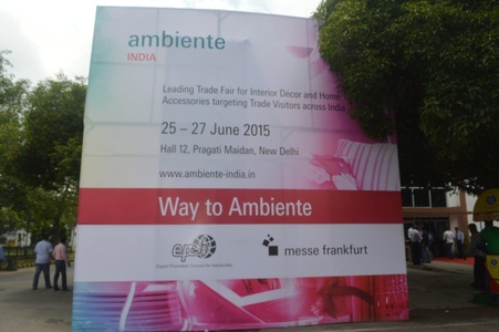 Ambiente, India, 25-27 June 2015, Pragati Maidan, New Delhi