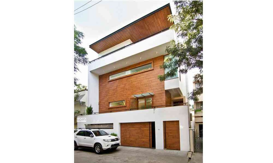 Home Front Elevation In Bangalore : House in bangalore by living edge architects designers