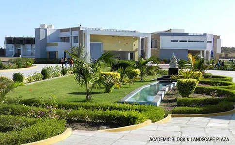 Academic Block and Landscape Plaza