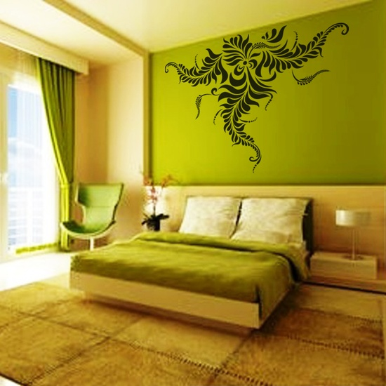 Creative Flower Wall Decal ( KC187 )