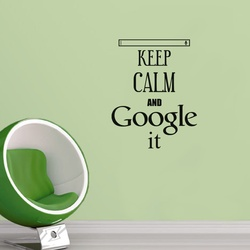Keep Calm and Google It Wall Decal ( KC370 )