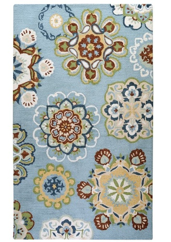 Medallion Artistic Floral Patterned Rugs