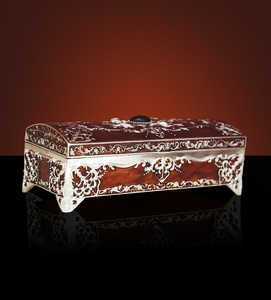 Jewelry Box Red Colour