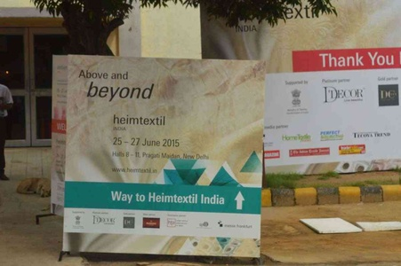 Heimtextil India, 25 - 27 June 2015, Pragati Maidan, New Delhi