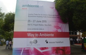 Heimtextil India and Ambiente India 2015 - Trade Fair for Home Furnishing & Contract Textiles