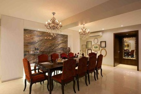Large Dining area Designed by Interior designer Rajni Patel
