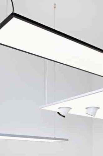 Super Flat Suspended lights