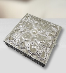 Buy Online Jewelry Box Enameled Square