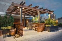 Outdoor Terrace Pergola