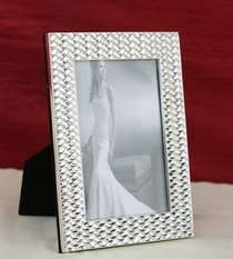 Photo Frame Cris-Cross Border