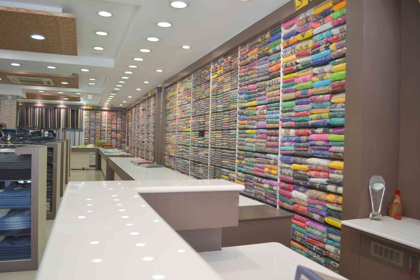Saree Shop Interior Design Photos