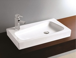 Sestones Liana White Ceramic Wash Basins