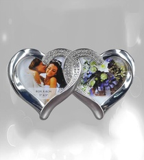 2-in-1 Heart Shape Photo Frame Buy Online