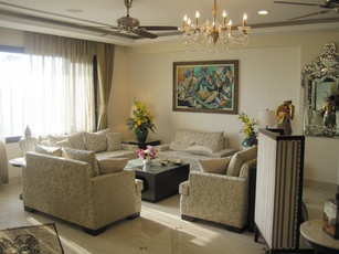 Royal Style Living Room Design by Interior Designer Payal Kapoor