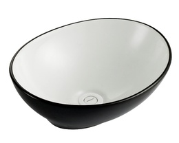 Sestones Bruno Black and White Art Basin