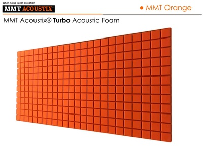 MMT Acoustix® Turbo Acoustic Panels MMT Orange