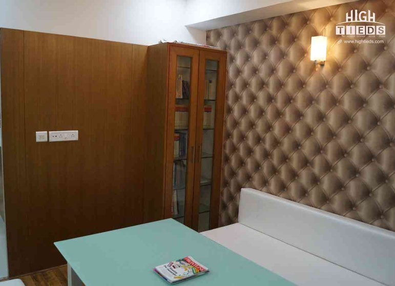 Meeting Room Design Wallpaper Design Center Table Design Book Storage High Tieds Interior Design Ahmedabad