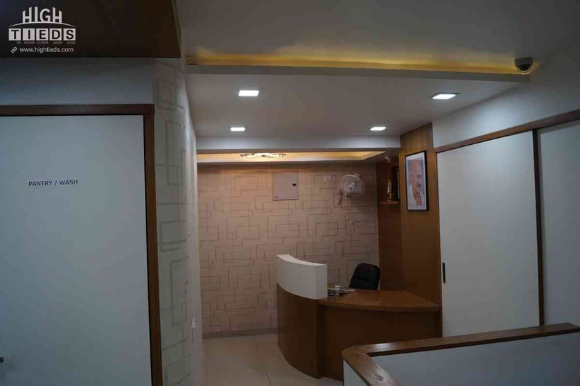 Office Receprion Area Design Waiting Area Design High Tieds Interior Design Ahmedabad