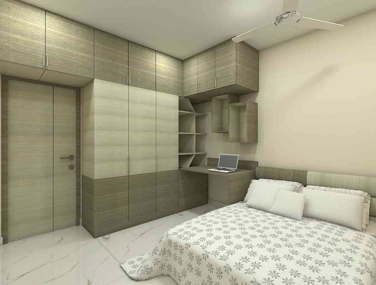 3bhk Flat Interiors Design By Amaze Interiors Interior Designer In Chennai Tamil Nadu India