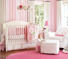 Unique Girl Nursery Idea, Source: ghoofie.com