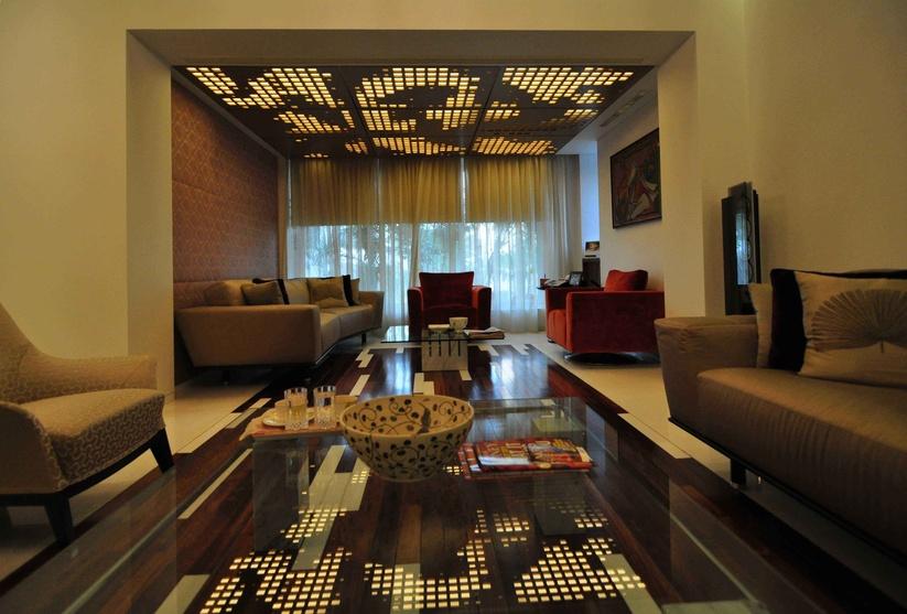 J house by shroffleon interior designer in mumbai - The living room mumbai maharashtra ...