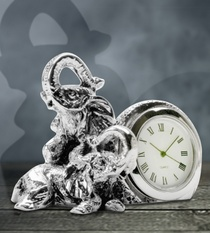 Table Clock Elephant