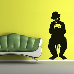 Charlie Chaplin Wall Decal ( KC210 )