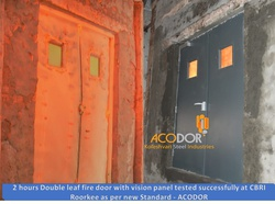 ACODOR Make 2 hours Fire Rated Steel Door