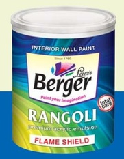 Berger Rangoli Flame Shield
