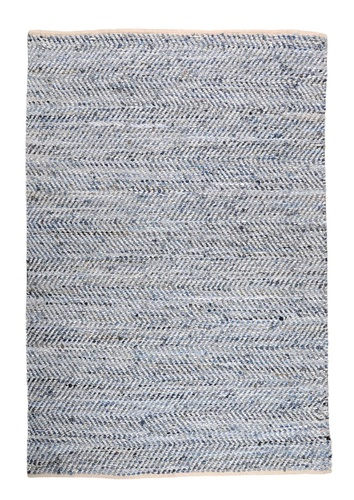 Atlas Recycled Denim/Leather Rugs