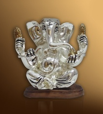 Ganesha with Golden Arms