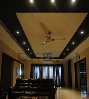 False ceiling ideas ceiling design idea ceiling fan for Interior design for living room chennai