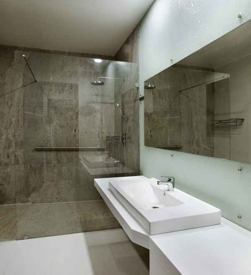 Bathroom with a Shower Enclosure